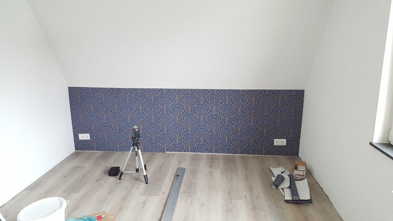 Das Schlafzimmer - Mustertapete