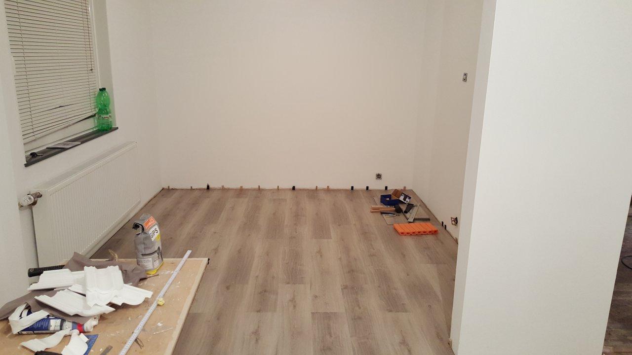 Das Wohnzimmer - Fußboden Teil 1