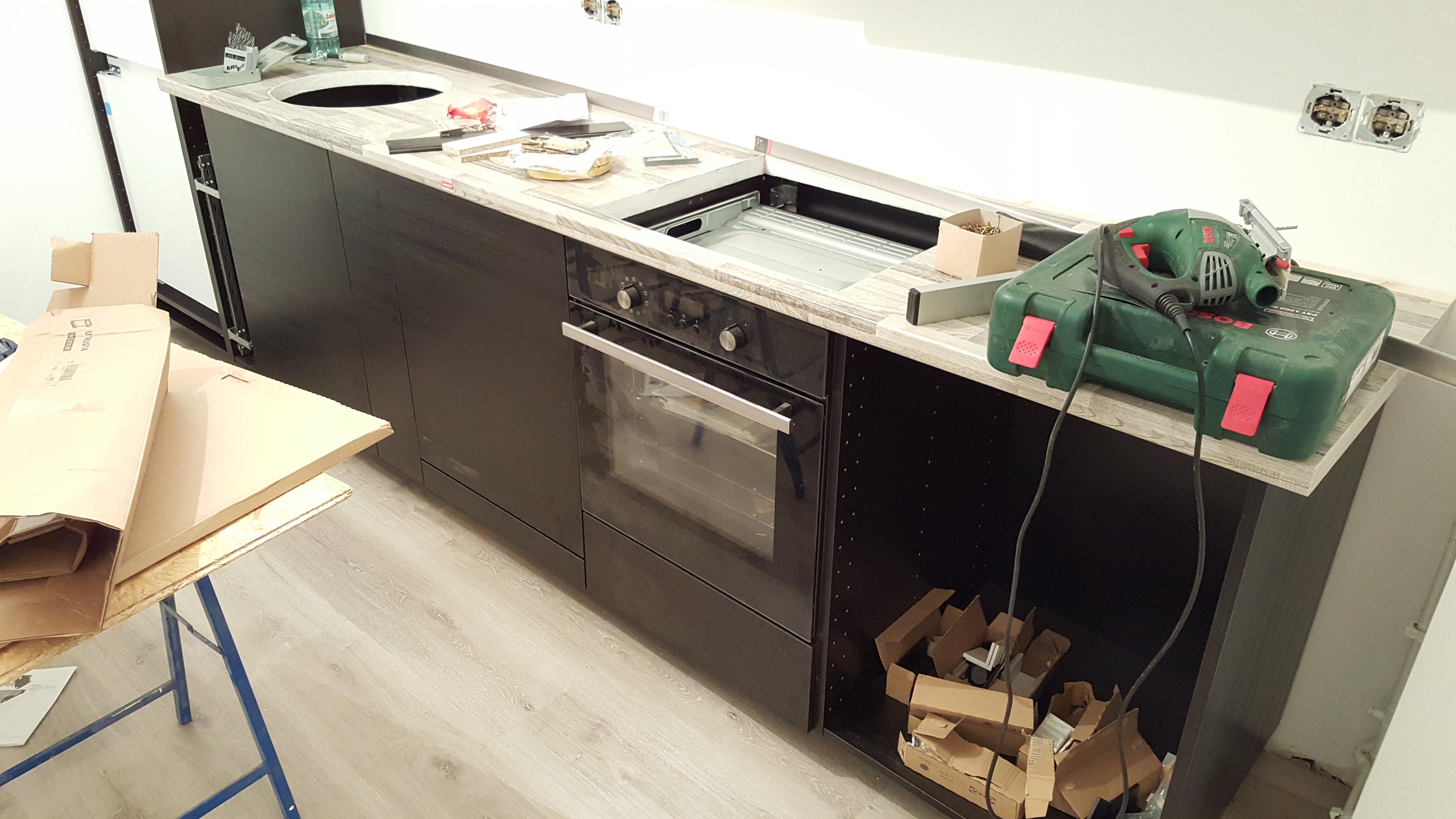 Aufbau Ikea Küche