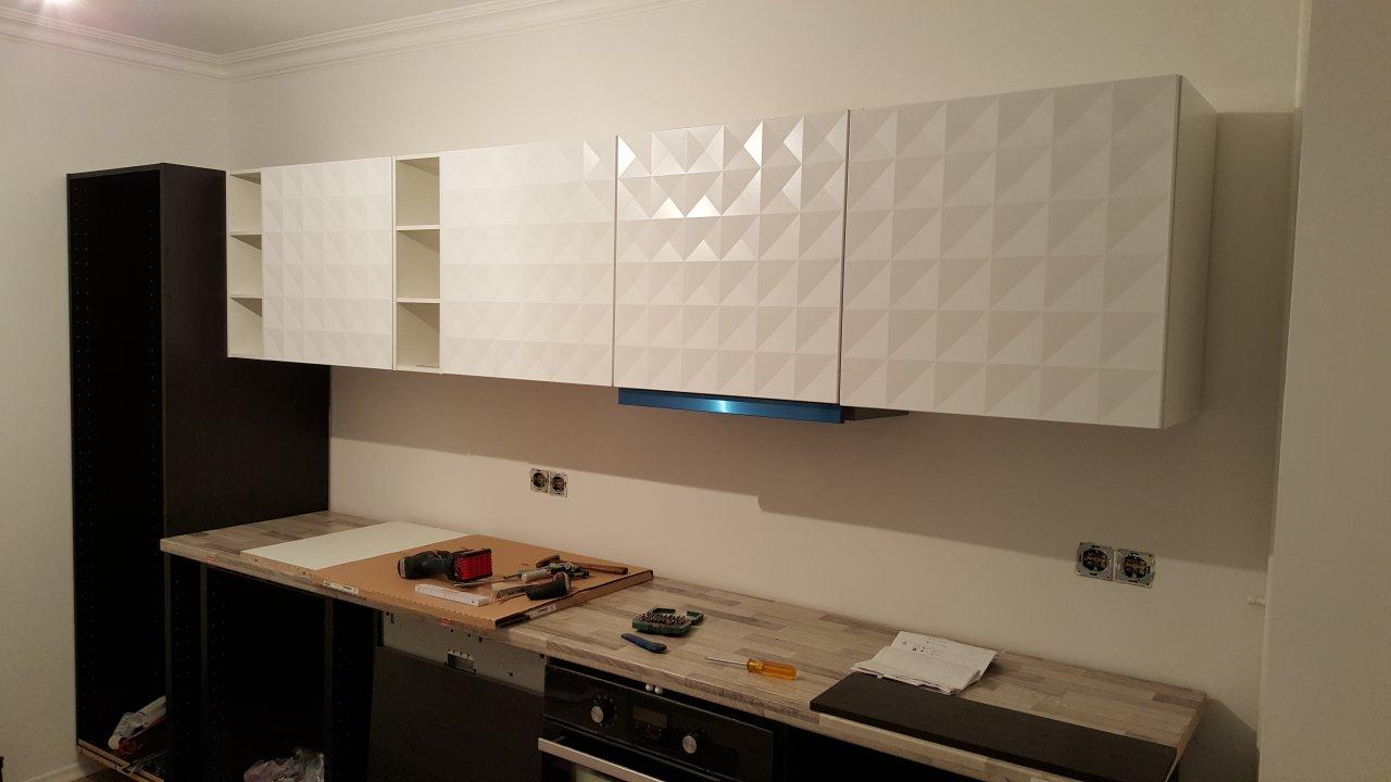 Die Küche - Der Aufbau...und das IKEA Problem