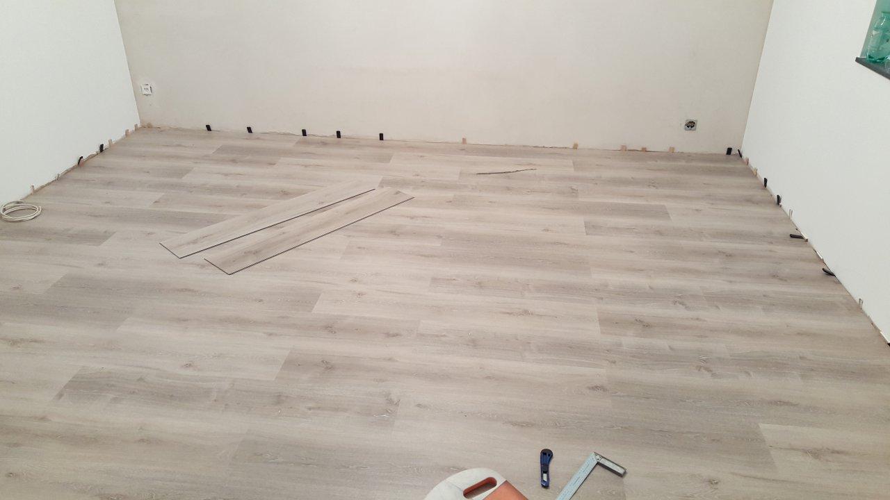 Das Wohnzimmer - Fußboden Teil 2