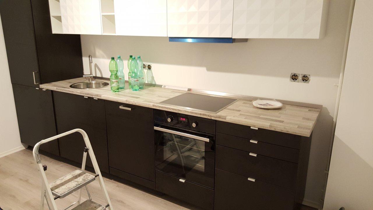 Die Küche - Soweit fertig bis auf Möbel