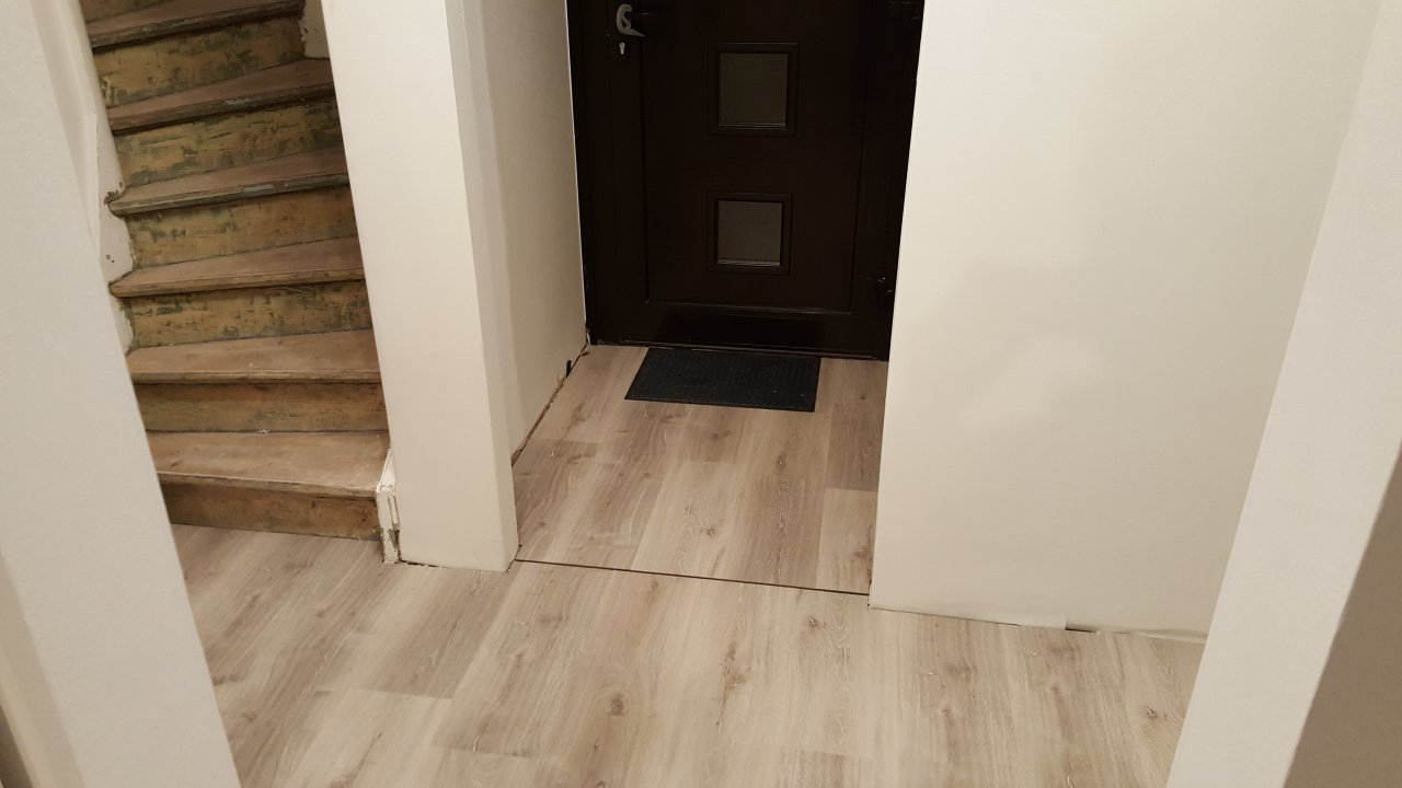 Der Flur - Fußboden