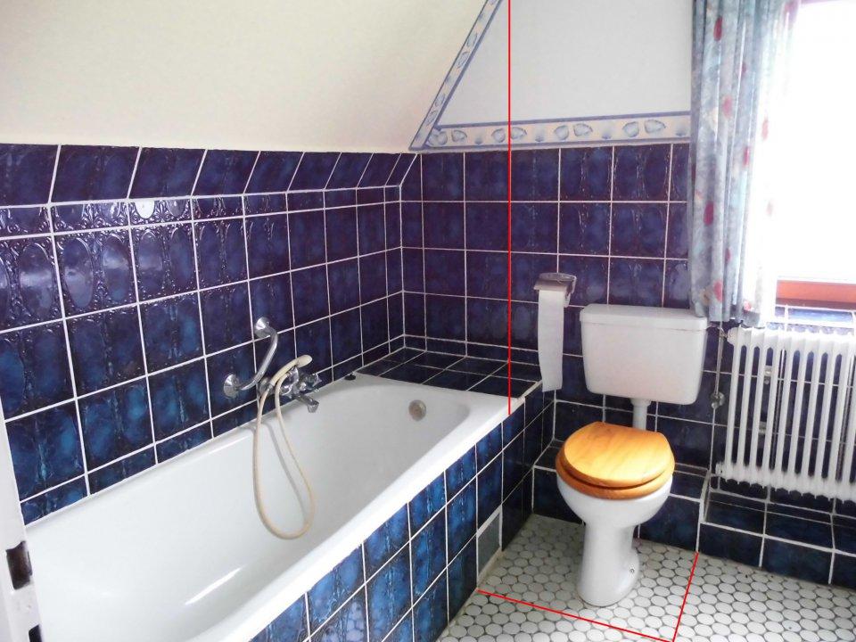 Das Bad - Das größte Problem vom Haus