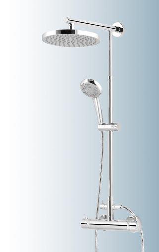 Das Bad - Abholen von Duschkabine und Duschsystem