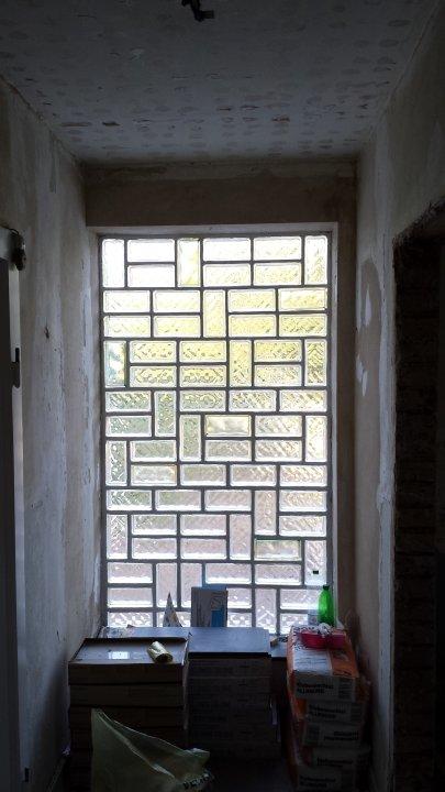 Die Terasse - Glaselemente ohne Durchsicht