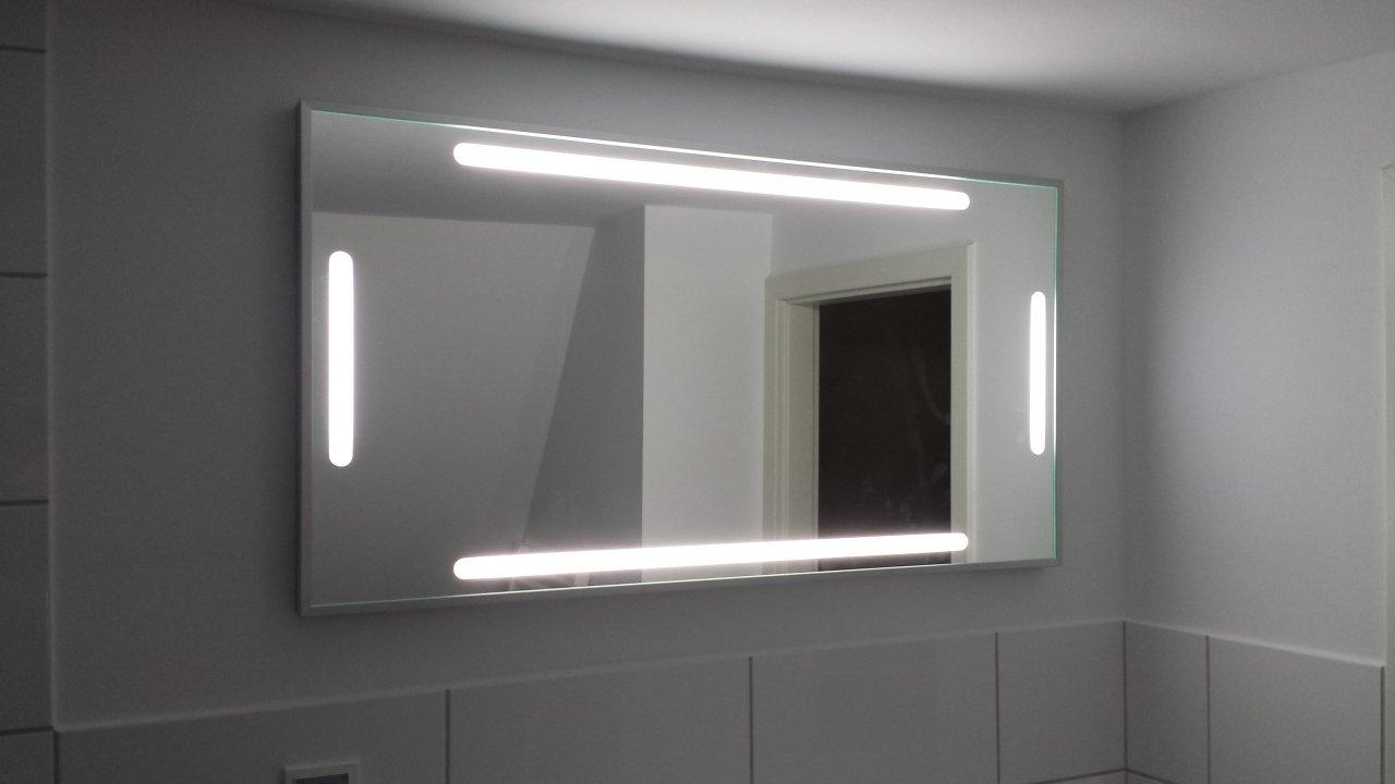 Das Bad - Spiegel und Licht