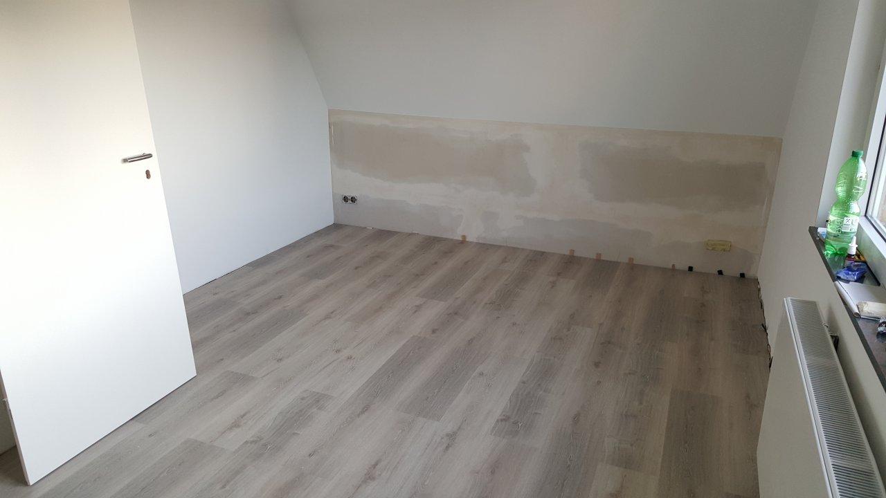 Das Schlafzimmer - Fußboden